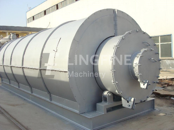 tyre/plastic pyrolysis oil distillation plant - kingtiger group
